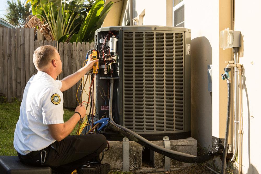 Central AC Maintenance