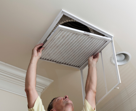 Central AC system repair1