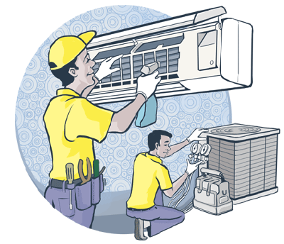 AC Repair in Falcon City Dubai